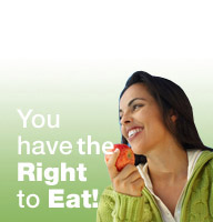you have the right to eat